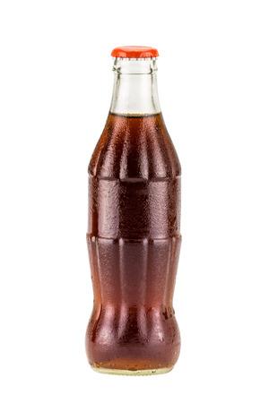 Cola bottle drink isolate on white background Standard-Bild