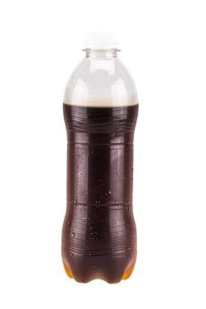 cola bottle: Cola bottle drink isolate on white background Stock Photo
