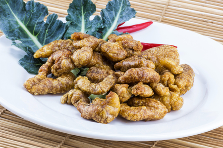 spawn: Spawn fried food from sea for healthy