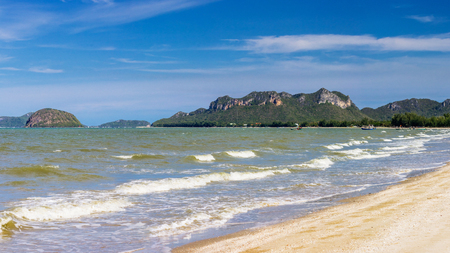 Beaty Island with clean beach on summer season in Thailand Asia Stock Photo