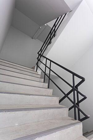 Stair emergency in high condominium building