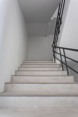 Emergency stair in high condominium building
