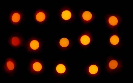 Light blur effect on black background Stok Fotoğraf