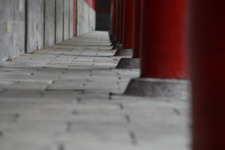confucian: Path in the Confucian temple