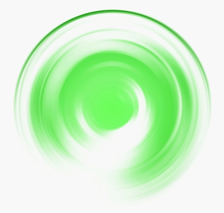 spin: Spin blur circle of bright green abstract background