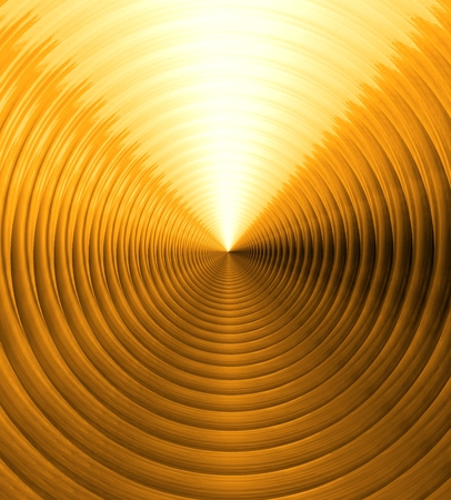 brushed aluminium: the Polished gold metal background with realistic circular brushed texture