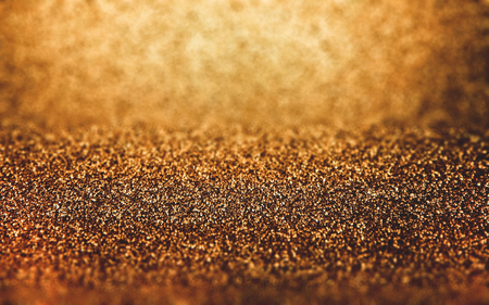 the abstract gold background, perspective composition