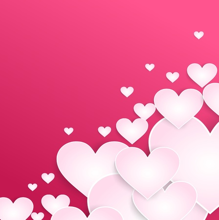 the valentine background with similar heart