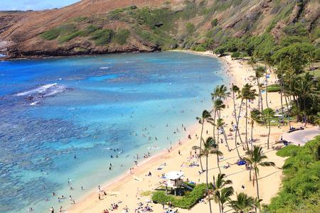 Oahu: Hanauma Bay in Oahu, Hawaii