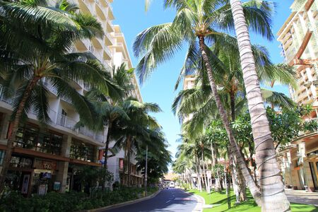 Waikiki Beachwalk in Honolulu, Hawaii