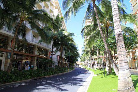 honolulu: Waikiki Beachwalk in Honolulu, Hawaii