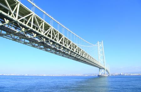 inland waterways: Akashi Kaikyo Bridge, The longest suspension bridge in the world