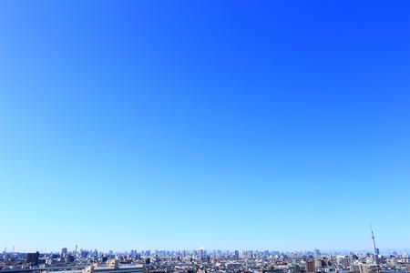 Tokyo skyline with Mount Fuji