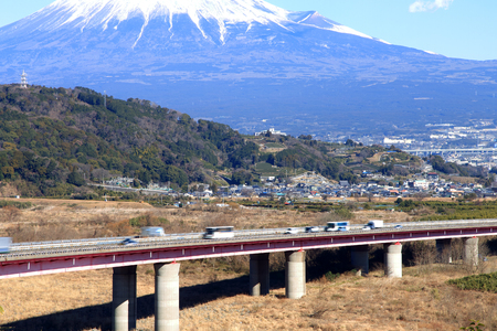 Tomei Expressway in Japan