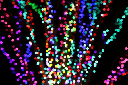 Colorful sparkling lights