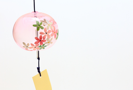 Japanese wind chime close up Stock Photo - 85179948