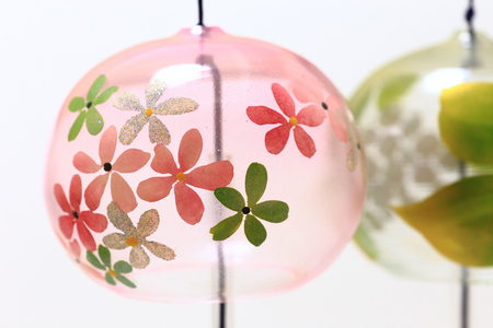 Japanese wind chimes close up Stock Photo - 85179932