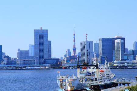 Tokyo skyline with Tokyo Tower