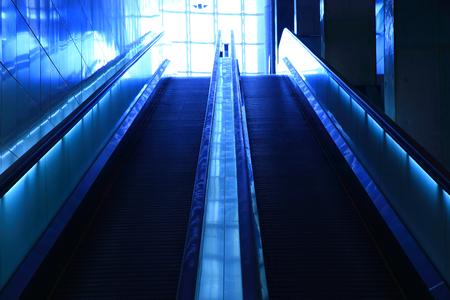 Escalator closeup photo