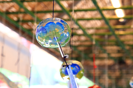 Japanese wind chimes Stock Photo - 114411411