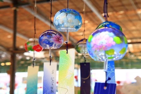 Japanese wind chimes Stock Photo - 114411440