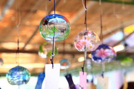 Japanese wind chimes Stock Photo - 114411441