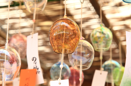 Japanese wind chimes Stock Photo - 114411459