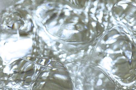 Ice cube close up Stockfoto