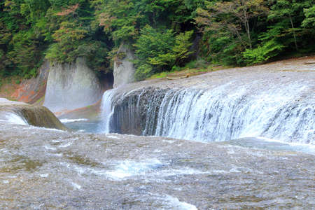 Fukiware waterfall in Gunma, Japan