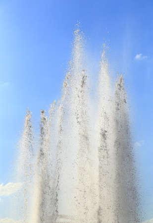 Fountain water in the park Archivio Fotografico