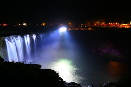 lightup: Light up the falls