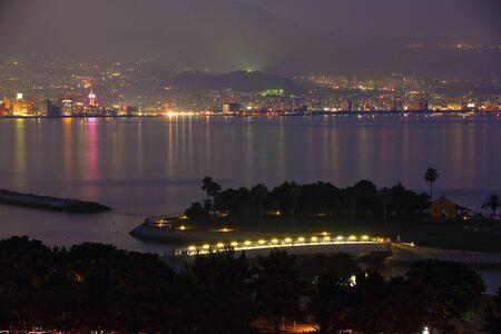 Night view of Beppu