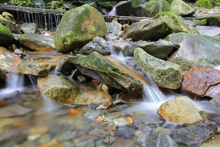 Photo of Kawakami Valley and its beauty 写真素材