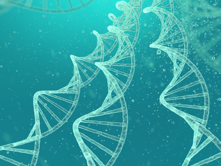 genetic research: DNA image Stock Photo