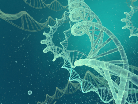 cancer cells: DNA image Stock Photo