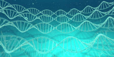 multiple image: DNA image Stock Photo
