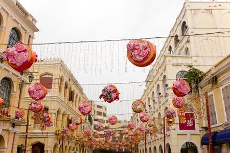 tourist feature: Senado Square in Macau