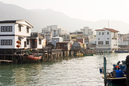 primitivism: Chinese fishing village Editorial