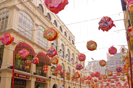 Senado Square in Macau
