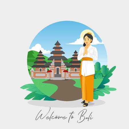 Welcome to Bali Greetings Card