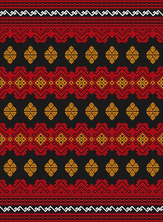 Songket traditional batik pattern from Lombok Indonesia