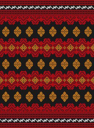 Songket traditional batik pattern from Lombok Indonesia