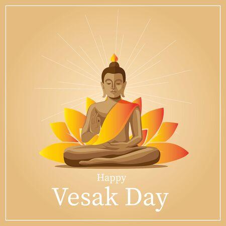Vesak Greetings Card