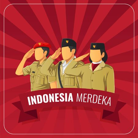 translate Indonesian republic independence day