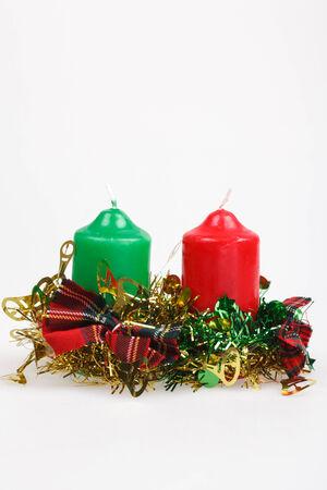 velas de navidad: color de vela de Navidad.