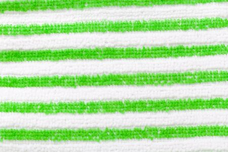 green line: Fabric green line and white background.