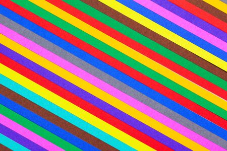 coloured: colourful papers background. Rainbow colored paper close up Stock Photo