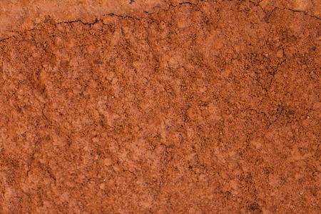 シームレスなテクスチャ - 粘土土。
