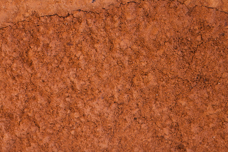 Seamless texture - clay soil. Imagens