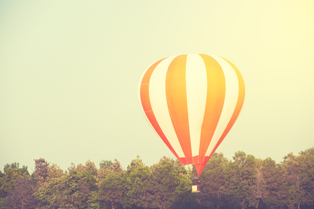 Colourfull Balloon festival in the sky.